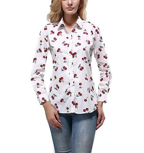 Aisuper - Camisas - Floral - para mujer
