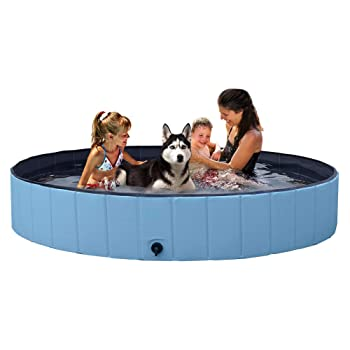 Yaheetech Foldable Kiddie Pool