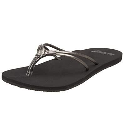 16b8711f5ec0 Reef Women s Rexa Sandal Pewter R1738PEW 4 UK  Amazon.co.uk  Shoes ...
