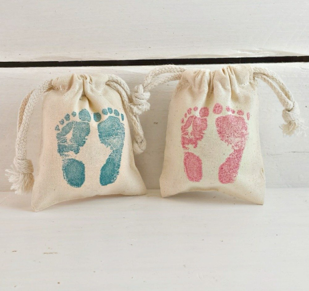 Amazon.com: Baby Shower Favor Bags   Baby Feet Favor Bag   Baby Feet Shower  Favor Bag   Its A Girl Bag   Its A Boy Favor Bag   Favors for Baby Showers:  ...
