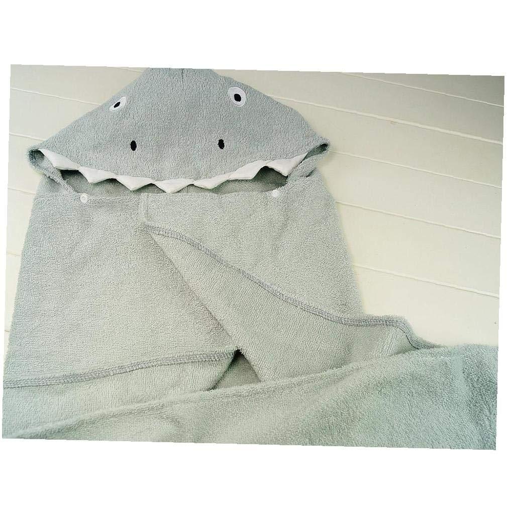 Hooded Baby Towel Hooded Baby Soft Bath Towel Cartoon Cotton Animal Hooded Towel for Newborn Bath