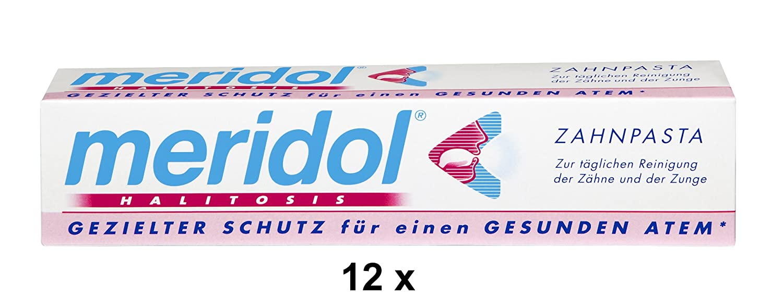 12 meridol HALITOSIS Zahnpasta je 75 ml