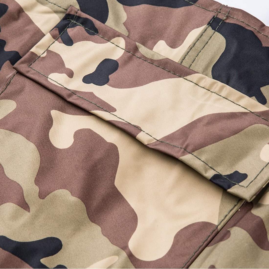 FENGXONG Camouflage Grownup Pantalons de p/êche Respirants et en Vrac