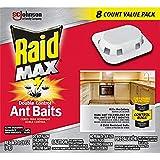 Raid Max Double Control Ant Baits, 0.28 oz, 8 CT (1)