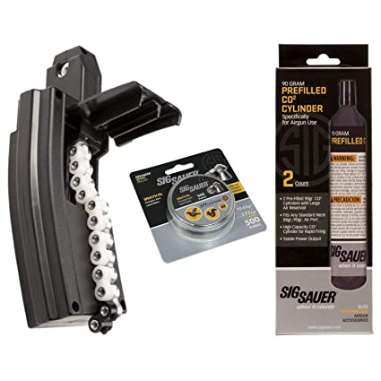 Amazon com : SIG Sauer MCX/MPX AIR Rifle Magazine 30 Rounds