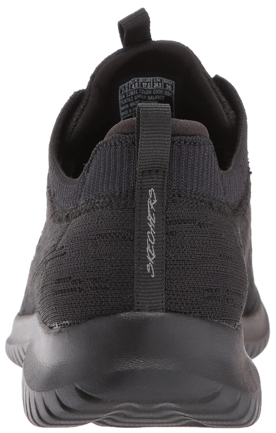 Skechers Women's B074BWXZFH Ultra Flex Bright Horizon Sneaker B074BWXZFH Women's 8.5 B(M) US|Black/Black 62cc83