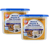Arm & Hammer Moisture Absorber & Odor Eliminator, 14oz - Eliminates Musty Odors & Freshens Air for Closets, Laundry Rooms, Mud Rooms