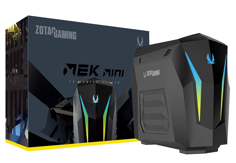 ZOTAC Gaming Mek Mini Gaming PC, GeForce RTX 2070 Super 8GB GDDR6, 8-Core Intel Core i7-9700, 16GB DDR4 240GB Nvme SSD 2TB HDD Windows 10 System, GM207SC7R1B-U-W2B