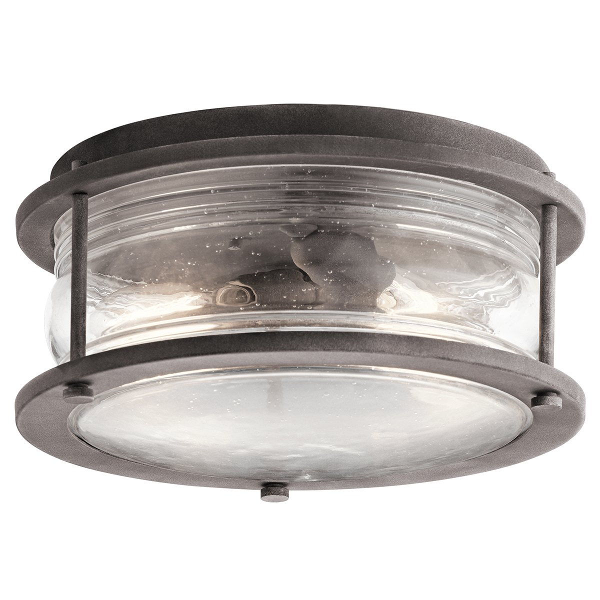 Kichler 49669WZC Two Light Outdoor Ceiling Mount by Kichler
