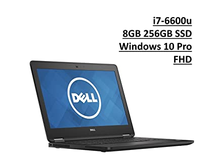 Dell Latitude 7000 E7270 UltraBook: Intel Core i7-6600U | 256GB SSD | 8GB