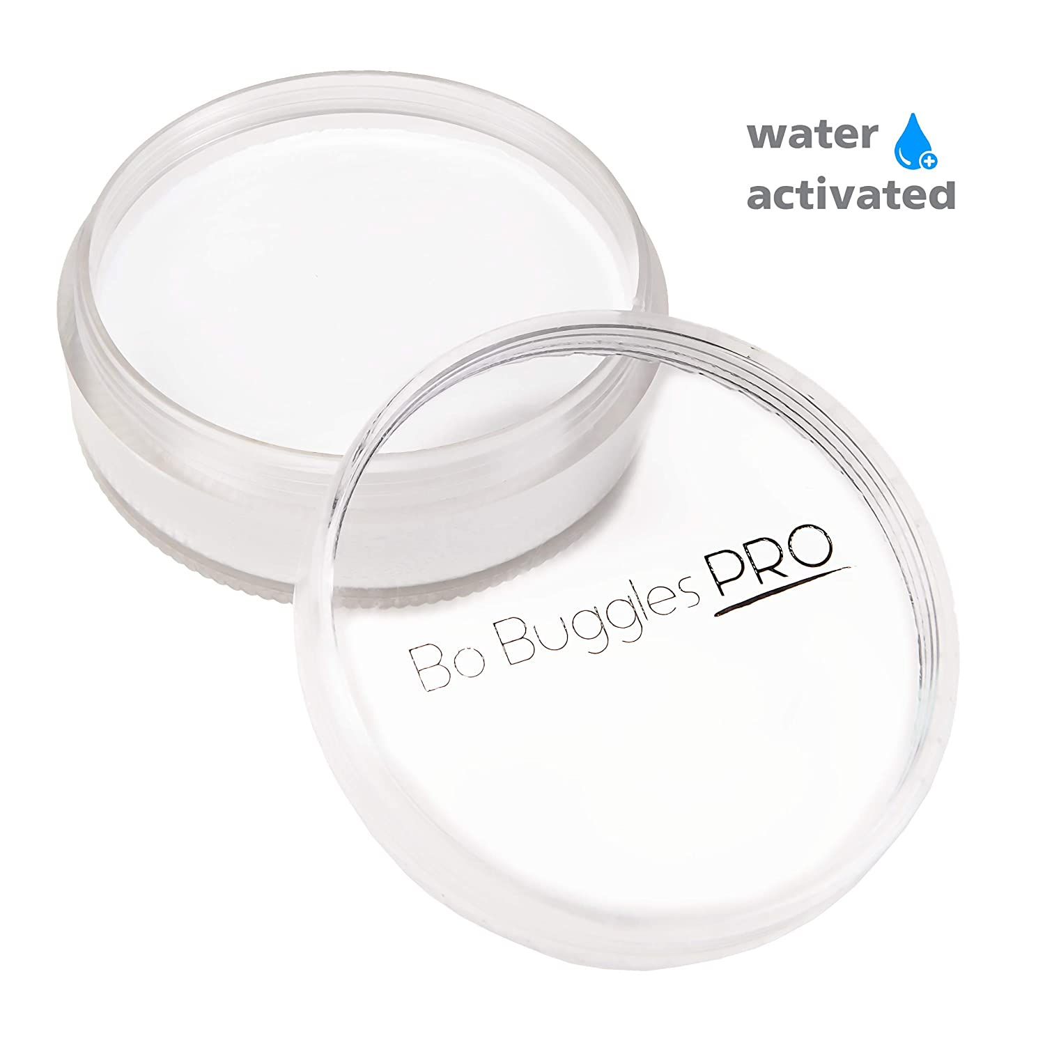 Amazon.com: White Face Paint 90 Grams | Classic Colors by Bo Buggles Professional | Water Activated