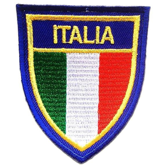 aufnäher gedruckt abzeichen Aufbügel flagge patch fahne italien