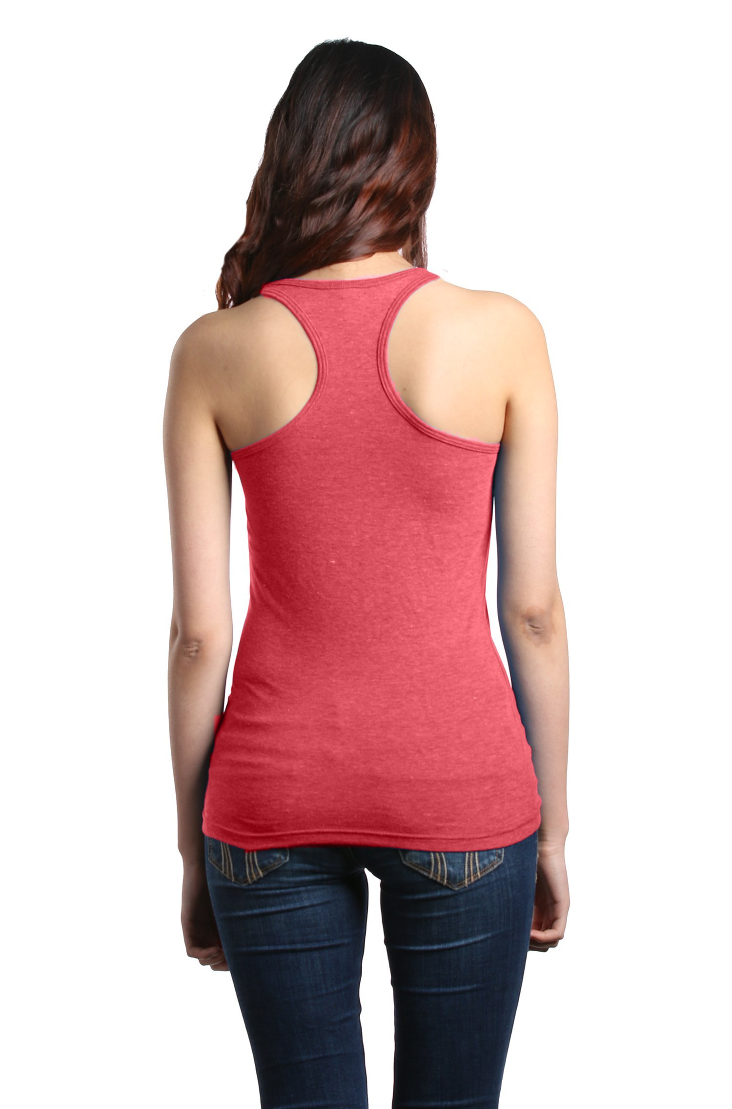 Shop4Ever Drinking Wine & Feeling Fine Women's Racerback Tank Top Wino Tank Tops Medium Red 0 by Shop4Ever (Image #3)