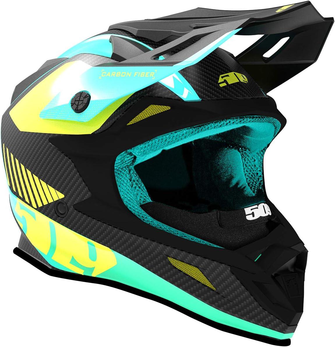 Teal - X-Large 509 Altitude Carbon Fiber Helmet with Fidlock
