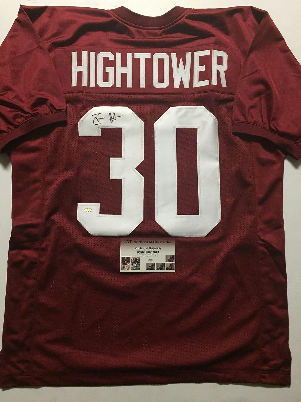 Autographed/Signed Donta Dont'a Hightower Alabama Crimson Tide Red ...