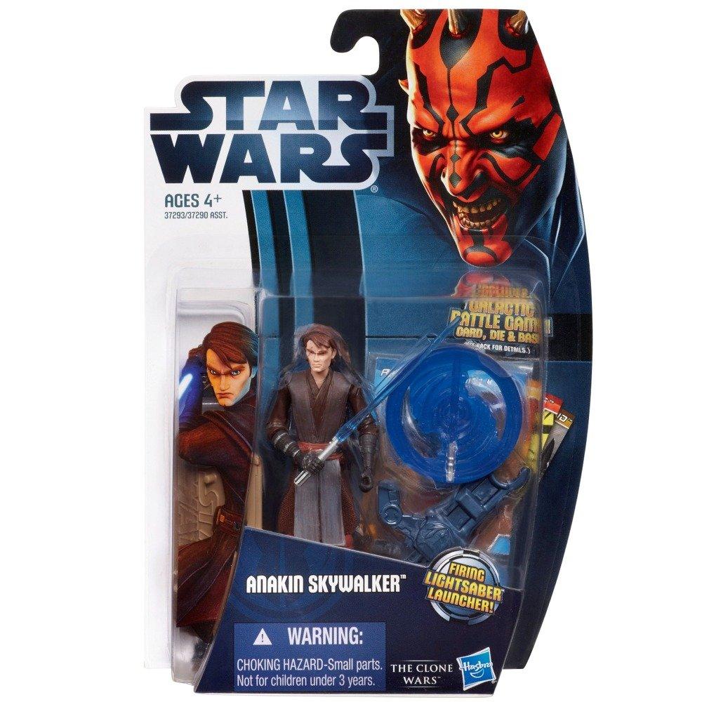 Clone Wars 2012 Animated Series 3.75 inch Anakin Skywalker Action Figure 37293 H37290-37293 Toys Hasbro Star Wars