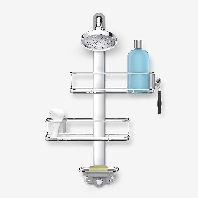 4. simplehuman Adjustable Shower Caddy EMW6298194