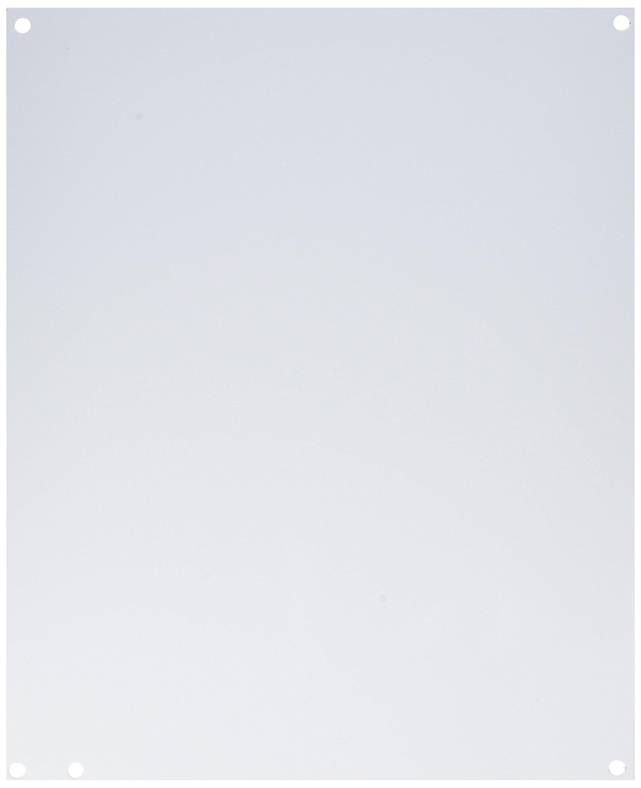 Wiegmann P1412 B-Series JIC Steel Sub Panel, 12-7/8'' x 10-7/8''