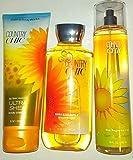 Bath & Body Works Country Chic Shower Gel, Ultra Shea Body Cream & Fine Fragrance Mist