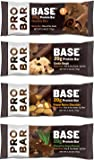 Probar Base Protein Bar 4 Flavor Variety Pack (Pack of 12)