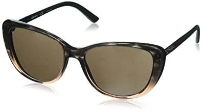 DKNY DY 4121 Sunglasses 366073 Brown Transparent Gradient Striped Brown  56-17-140 65e346bc0e