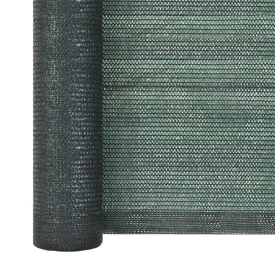 Tidyard Rete per Privacy in HDPE 1 x 25 m Verde