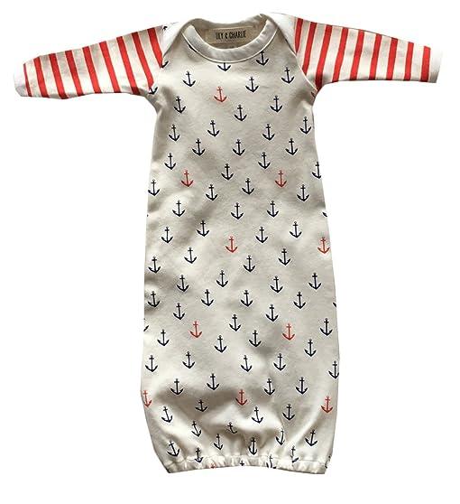 Amazon.com: Newborn Baby Girls Anchor Print Sleeping Bag Long ...
