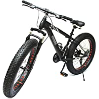 STURDY BIKES Fat Mountain Bike with 26X4 Inch Tyres (Black)