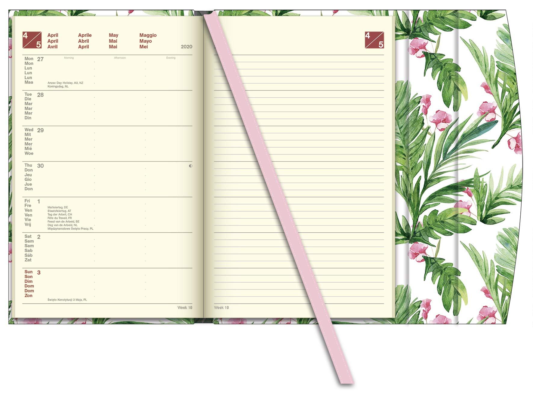 Flowers 2020 Magneto Diary Taschenkalender: Amazon.es ...