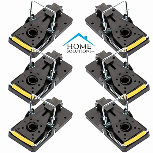 Home Solutions™ Mouse Trap, 6 Pack, Mice Traps, Mousetraps, For Indoors, Kill Instantly