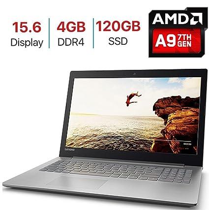 Lenovo Premium IdeaPad 320 15 6-inch HD Anti-Glare Display Laptop PC, 7th  Gen AMD A9-9420 Processor up to 3 6GHz, 4GB DDR4 SDRAM, 120GB SSD, HDMI,