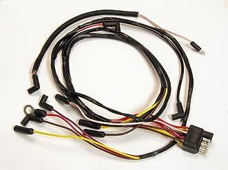 mustang engine gauge feed wiring v8 1966