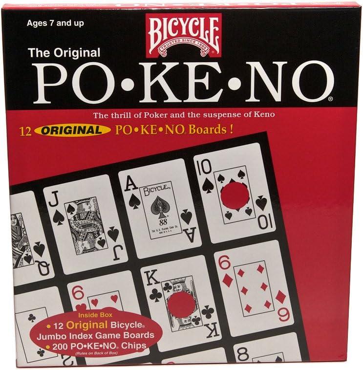 Original Pokeno Card Game by Bicycle: Amazon.es: Juguetes y juegos
