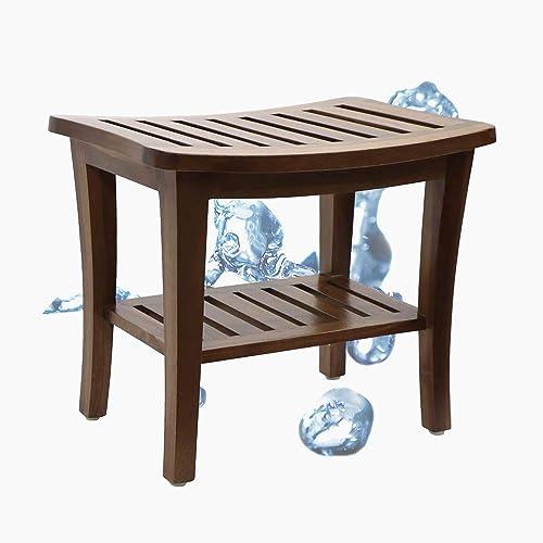 Teak Shower Stool Bench