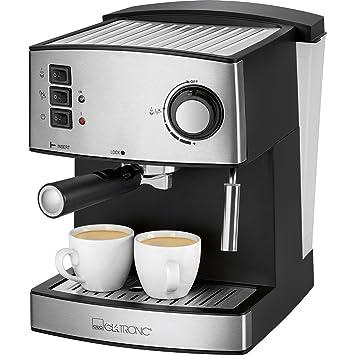Clatronic Cafetera Espresso 15 bares ES 3643 - Vendedores Amazon. Ofertas para tu Hogar.: Amazon.es: Hogar