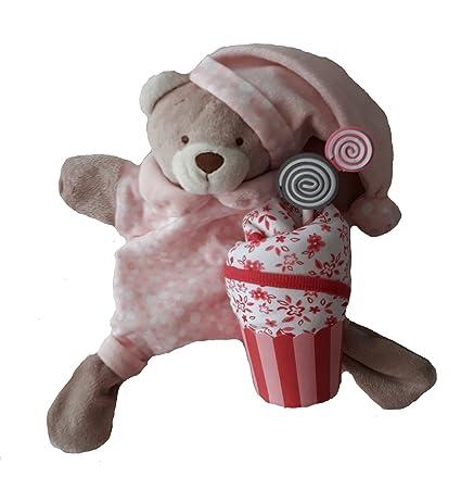 Conjunto set regalos bebé recién nacidos originales divertidos y baratos para niños/niñas. Osito