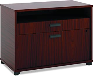 product image for The HON Company Manage File Center with 1 Shelf/ 2 Drawers, 30-Inch, Chestnut