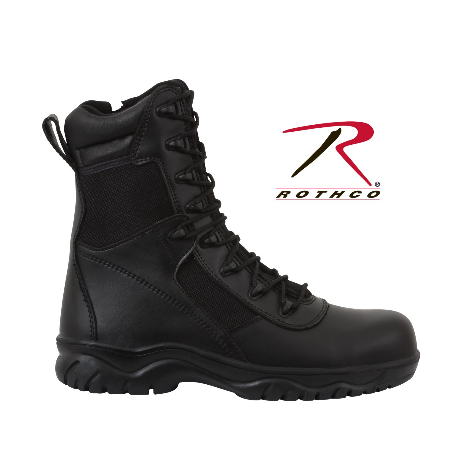 Rothco Side Zip-Composite Forced Entry Tact Boot, 12