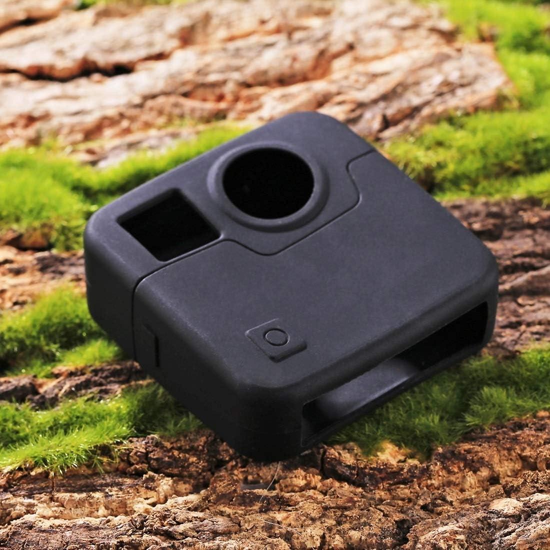 Color : Black MEETBM ZIMO,for GoPro Fusion Silicone Protective Case Black