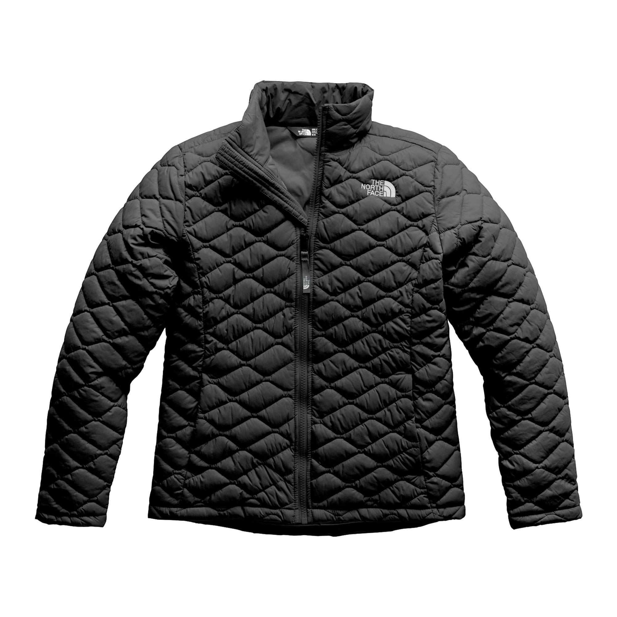 The North Face Girl's Thermoball Full Zip - TNF Black - XL