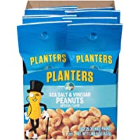 Planters Sea Salt & Vinegar Peanuts (2.25 oz Bags, Pack of 10)