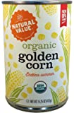 Natural Value Organic Golden Corn, 15.25 Ounce (Pack of 12)