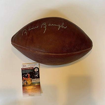 Sammy Baugh Autographed Football - Vintage Authentic Model COA - JSA ... c2d7315a9