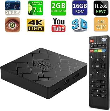 MXQ 4K Android 7.1 RK3229 Quad Core 1G+8G Smart TV Box 3G WIFI 4Kx2K Set-top Box