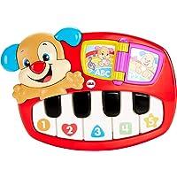 Fisher Price Eğlen & Öğren Eğitici Köpekçiğin Piyanosu (Türkçe), 5 Işıklı Piyano Tuşu, 30'un Üzerinde Şarkı, DLK19