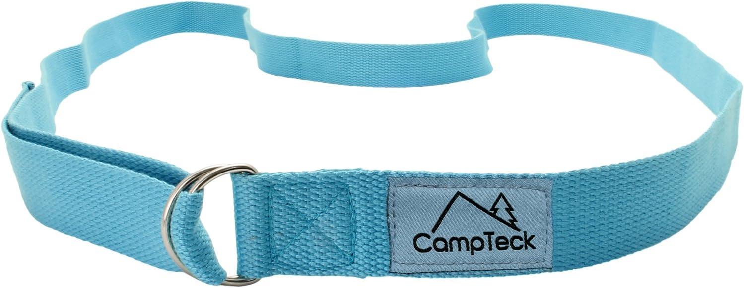 CampTeck Cinta Yoga Anillo D /& Yoga Bloque Espuma