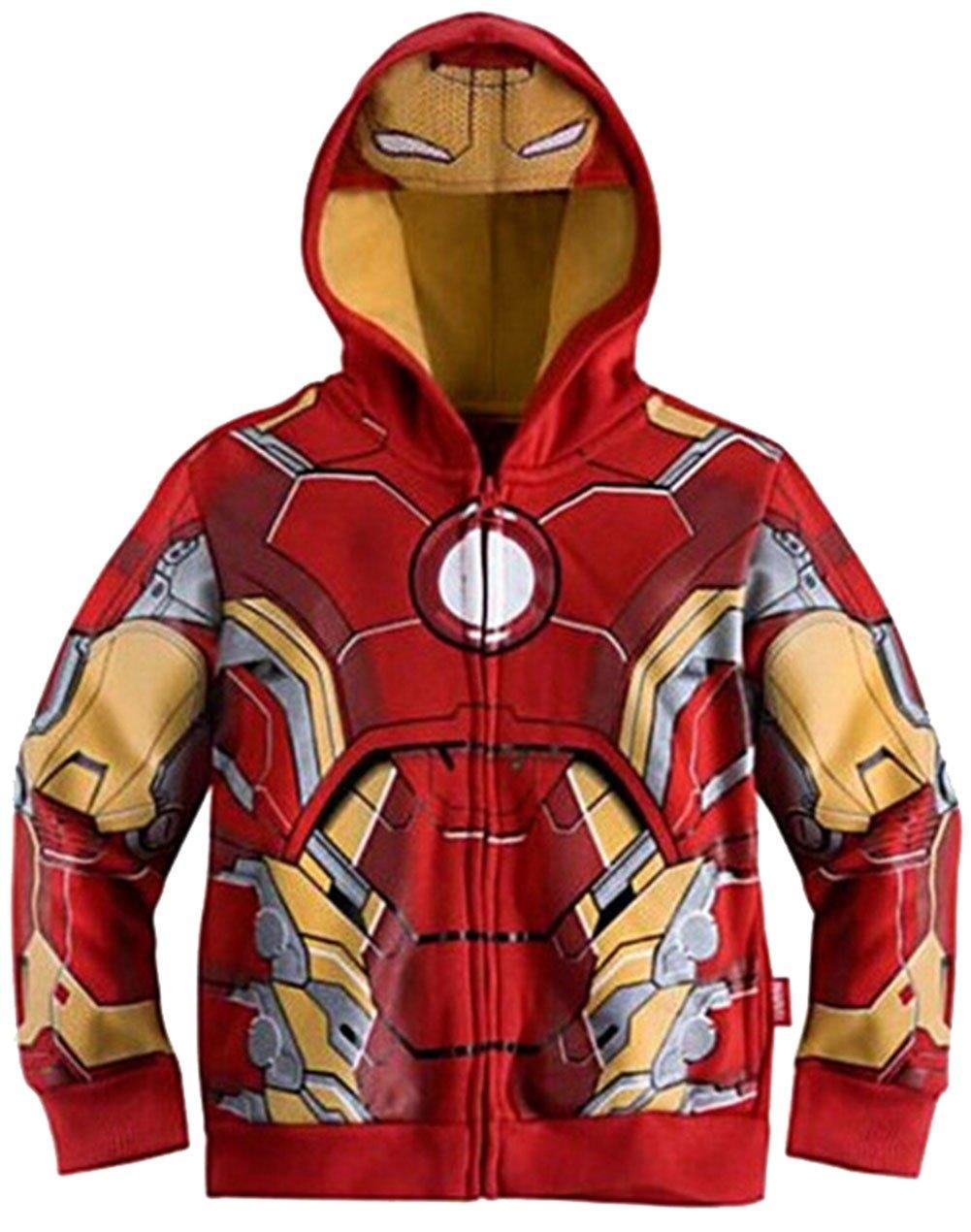 Lemonkids® Children Kids Boys Hero Cosplay Winter Fleece Hoodies Jacket Coat Faddist Spark Malls-CA