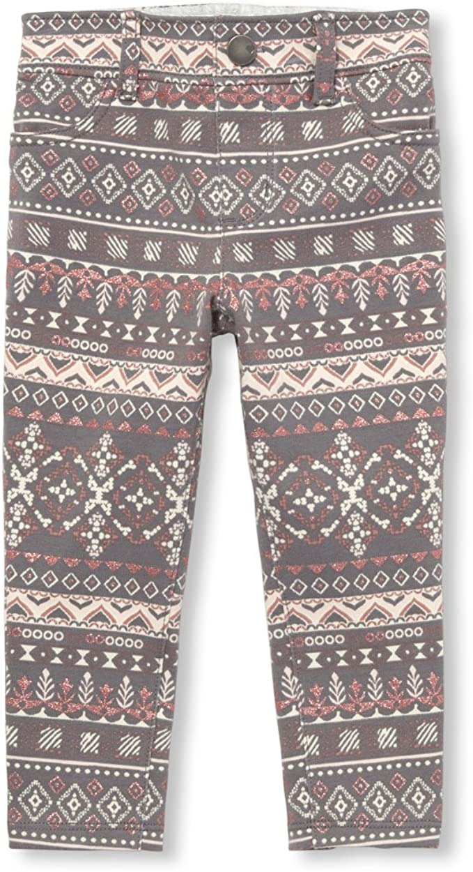 The Childrens Place Girls French Terry Jeggings Pants