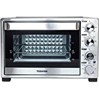 Toshiba 12-Slice Stainless Steel Convection Toaster Oven with Rotisserie