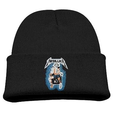 e3a89fcf46c Amazon.com  Metallica Death Magnetic Cap Kid s Hipster Beanie Beanie ...